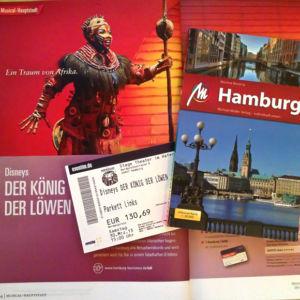 Ostern in Hamburg - mit Musical Besuch 'Der König der Löwen'