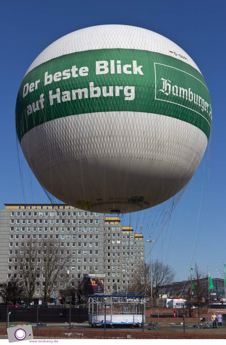 Hamburg von oben. Der geilste Blick auf die Stadt.