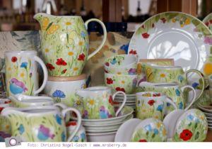 Handbeamltes Porzellan aus Estland - Alla-S