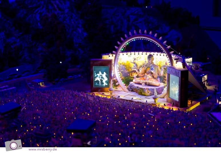 Miniaturwunderland in Hamburg - DJ Bobo Konzert