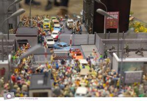 Miniaturwunderland - Berlin die geteilte Stadt - die Geschichte der Teilung und Wiedervereinigung