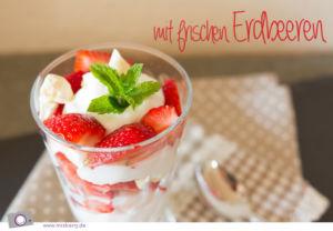 Rezept: Erdbeer Trifle - ein Sommer Dessert
