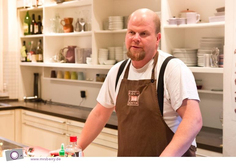 Kochen im Koch Kontor mit Nils Lauckner