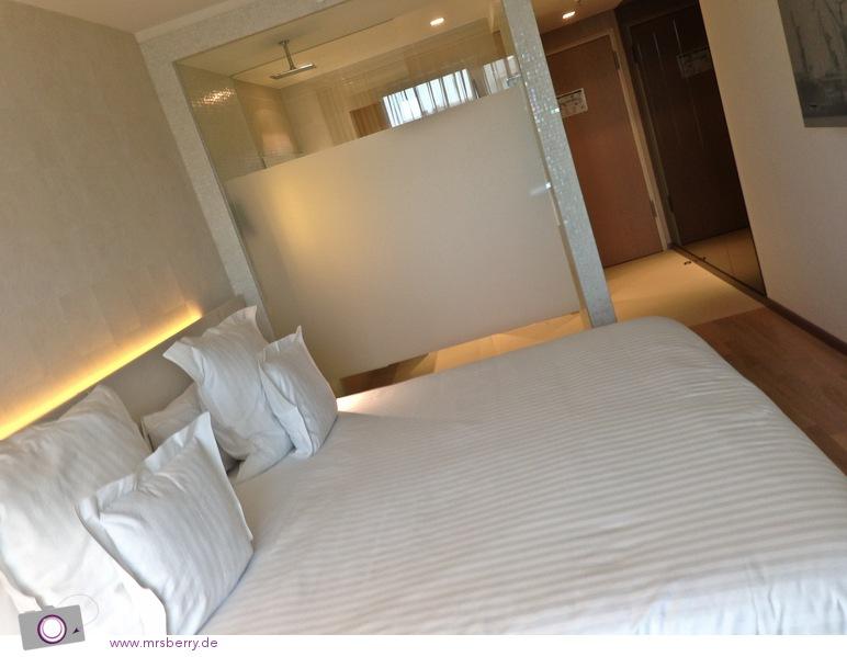 Mein Superior-Designer-Zimmer im Hotel Barceló in Hamburg