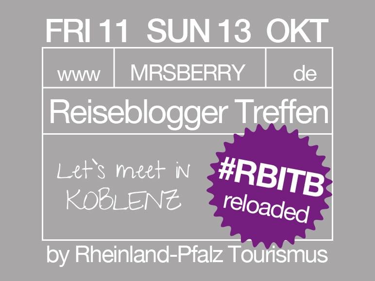Reiseblogger Treffen in Koblenz