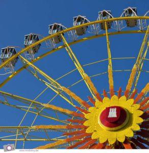 Hamburger DOM: das Reisenrad