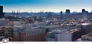 Hamburger DOM: Ausblick vom Riesenrad