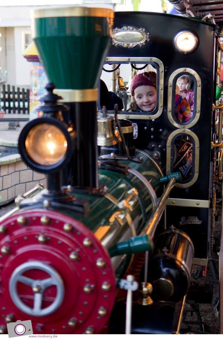 Hamburger DOM: Kinder-Eisenbahn