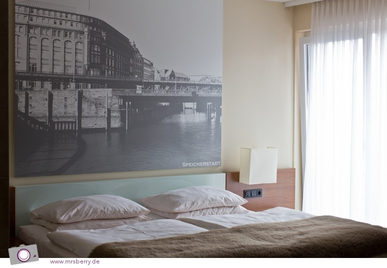 Lindner Hotel Hamburg: unser Zimmer