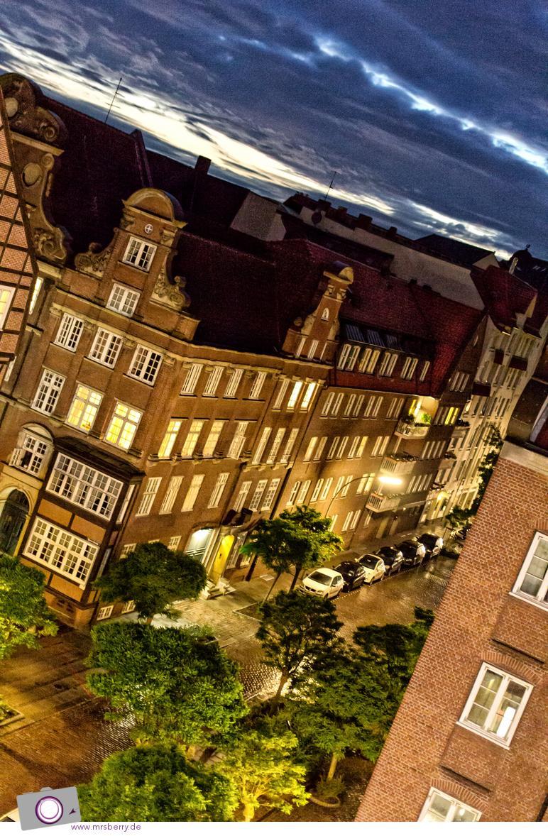 Lindner Hotel Hamburg: Aussicht vom Zimmer