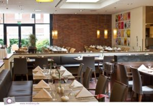 Lindner Hotel Hamburg: das Restaurant