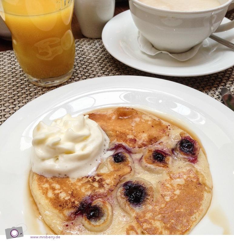 Lindner Hotel Hamburg: Pancakes zum Frühstück