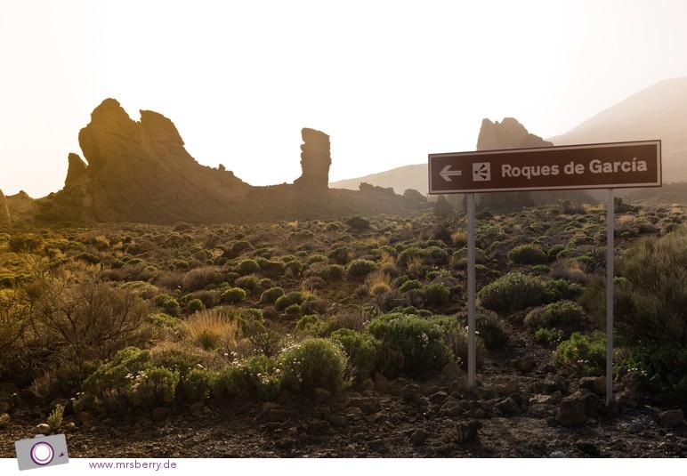 Roques de García - mit Roque Cinchado in der Mitte