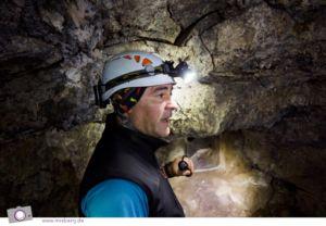 Cueva del viento - die größte Vulkanröhre der Europäischen Union - hier mit Dragan