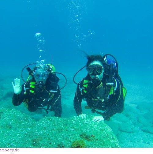 Puertito de Adeje auf Teneriffa – die ideale Bucht für Tauchanfänger
