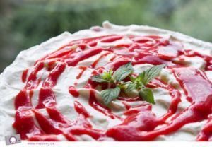 Erdbeer-Limetten Cheesecake