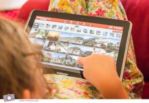CEWE Fotowelt App - Gewinne ein Samsung Galaxy Tab mit MrsBerry