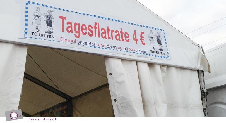 Das Kölner Oktoberfest - Pipi Tagesflatrate