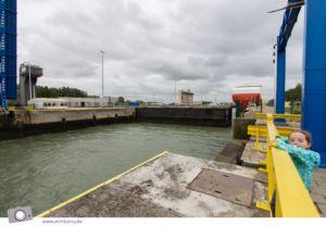Urlaub in Belgien: Der Hafen von Zeebrügge