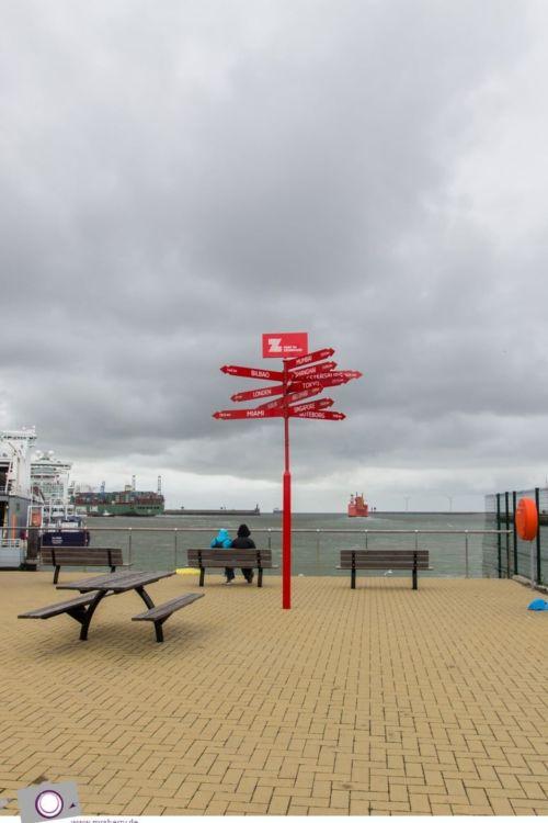 Flandern mit Kind: Schiffe gucken am Hafen Zeebrügge