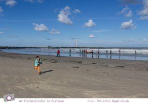 Urlaub in Belgien: Am Fischereihafen in Oostende