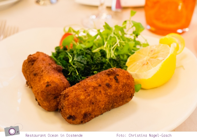 Urlaub in Belgien: Restaurant Ocean in Oostende