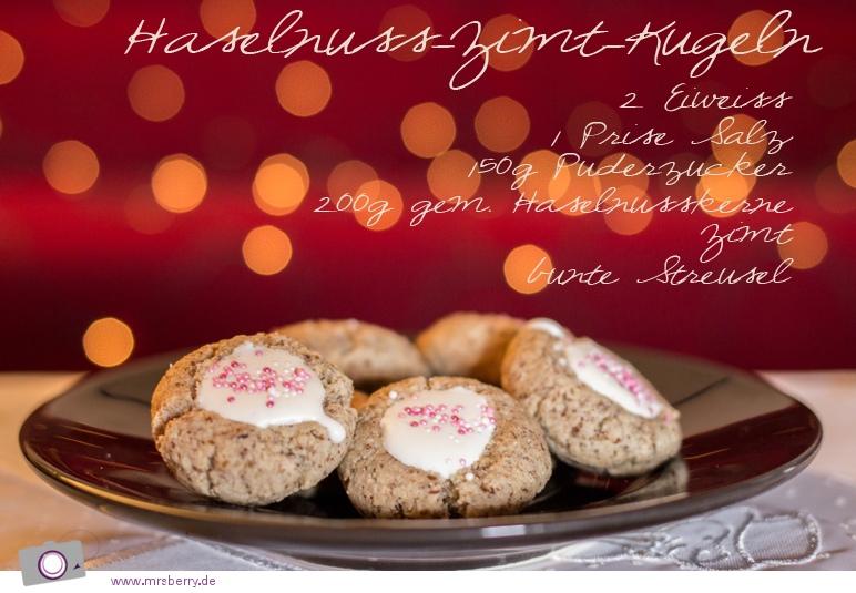 Weihnachtsbäckerei: Rezept für Haselnuss-Zimt-Kugeln
