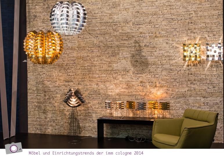 Möbel- und Einrichtungstrends von der imm cologne 2014: Trendmaterial Kupfer