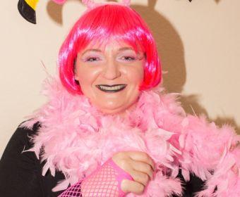 Kostümidee für Karneval: Flamingo Kostüm