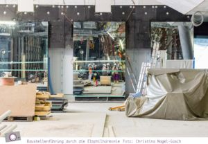 Elbphilharmonie Baustellenführung - ein Selfie ;-)