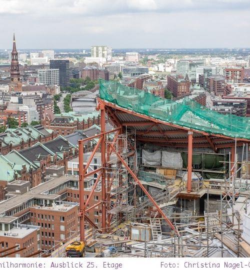 Elbphilharmonie Baustellenführung und Hamburgs neue Luxuswohnung