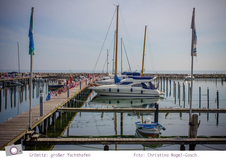 Der Yachthafen von Grömitz - auf zu Abenteuern wie Captain Hook