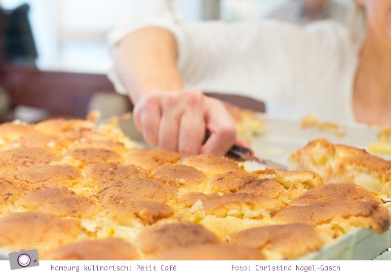 Das Petit Café und Hamburgs bester Blechkuchen