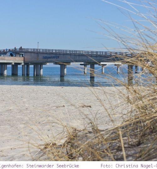Ostseeküste: Steinwarder in Heiligenhafen