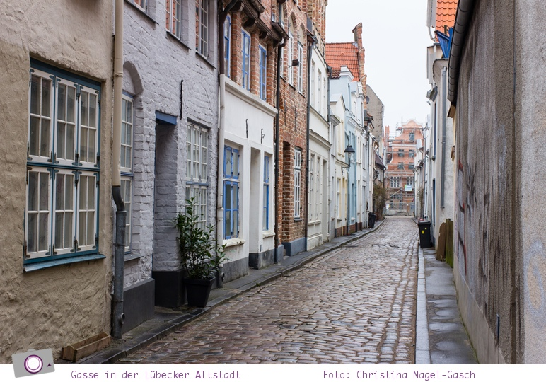 Lübeck: Gassen der Altstadt