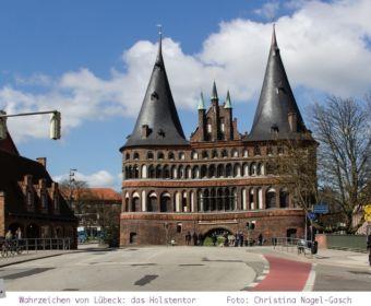 Lübecker Wahrzeichen: das Holstentor