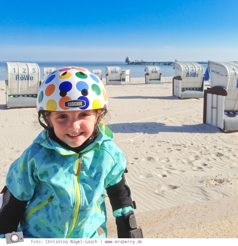 Ostsee im Frühling: 11 Tipps für deinen Urlaub in Grömitz - 6 freie Fahrt mit Inline Skates