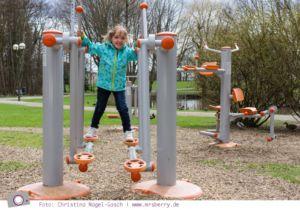 Ostsee im Frühling: 11 Tipps für deinen Urlaub in Grömitz - 9 Bewegung im Kurpark