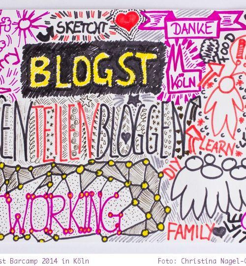 Wie das Blogst Barcamp in Köln meine Liebe zu Sketchnotes entfachte