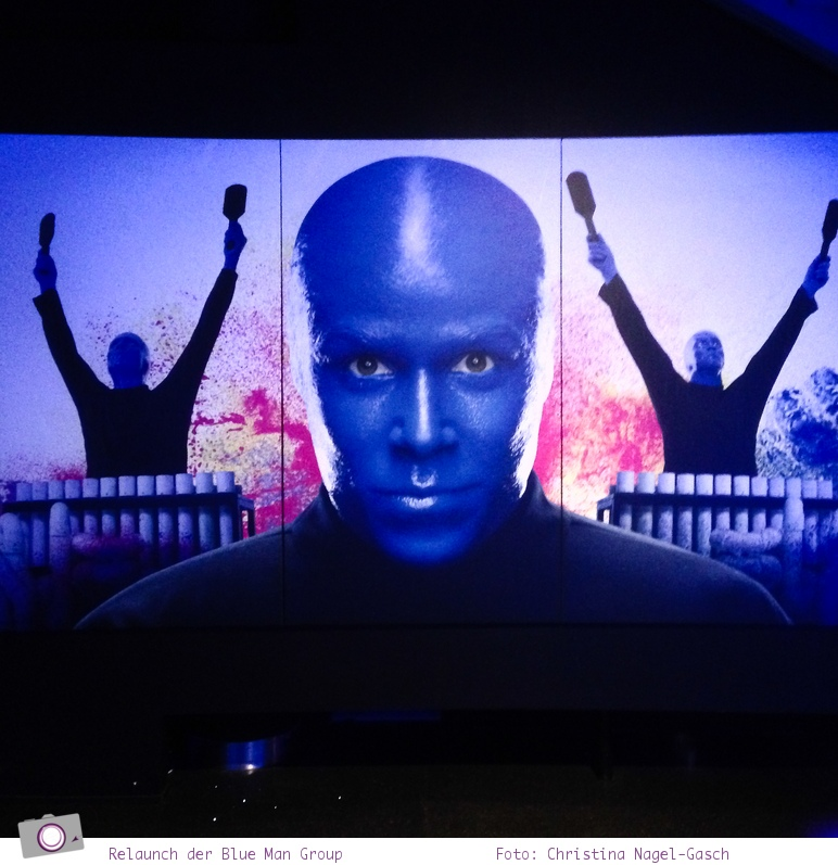 Reisemesse ITB - Relaunch der Blue Man Group