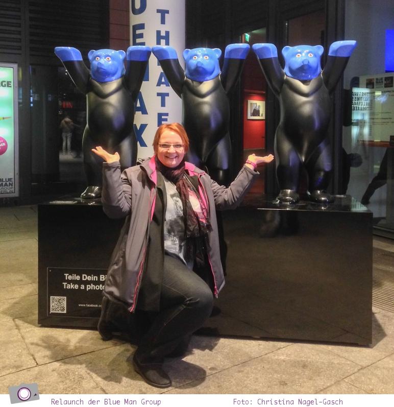 Relaunch der Blue Man Group in Berlin