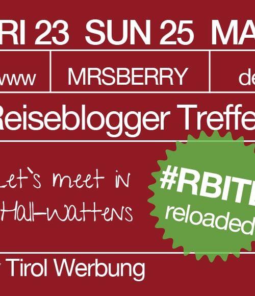 Reiseblogger Treffen in Tirol #RBITB