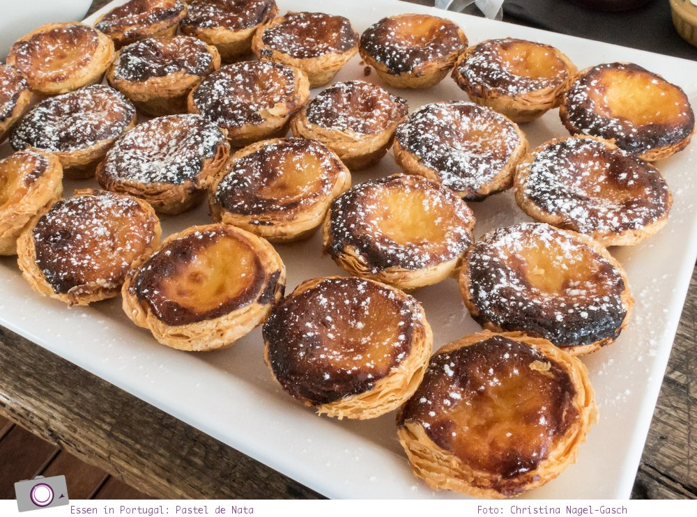 Essen in Portugal: Pastel de Nata