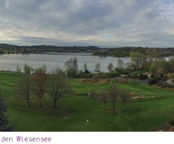 Lindner Hotel & Sporting Club am Wiesensee: Aussicht aus meinem Zimmer