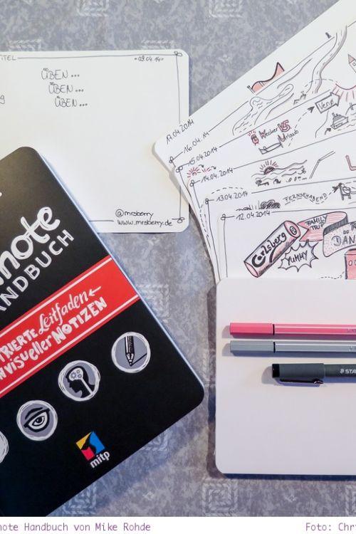 Buch Tipp: das Sketchnote Handbuch von Mike Rohde