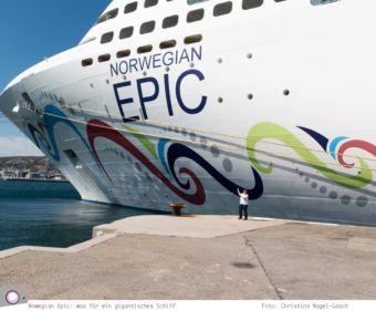 Mittelmeer Kreuzfahrt mit der Norwegian Epic - was für ein gigantisches Schiff