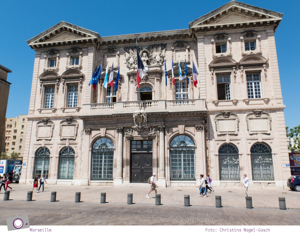 Norwegian Epic: Landgang in Marseille - das Rathaus