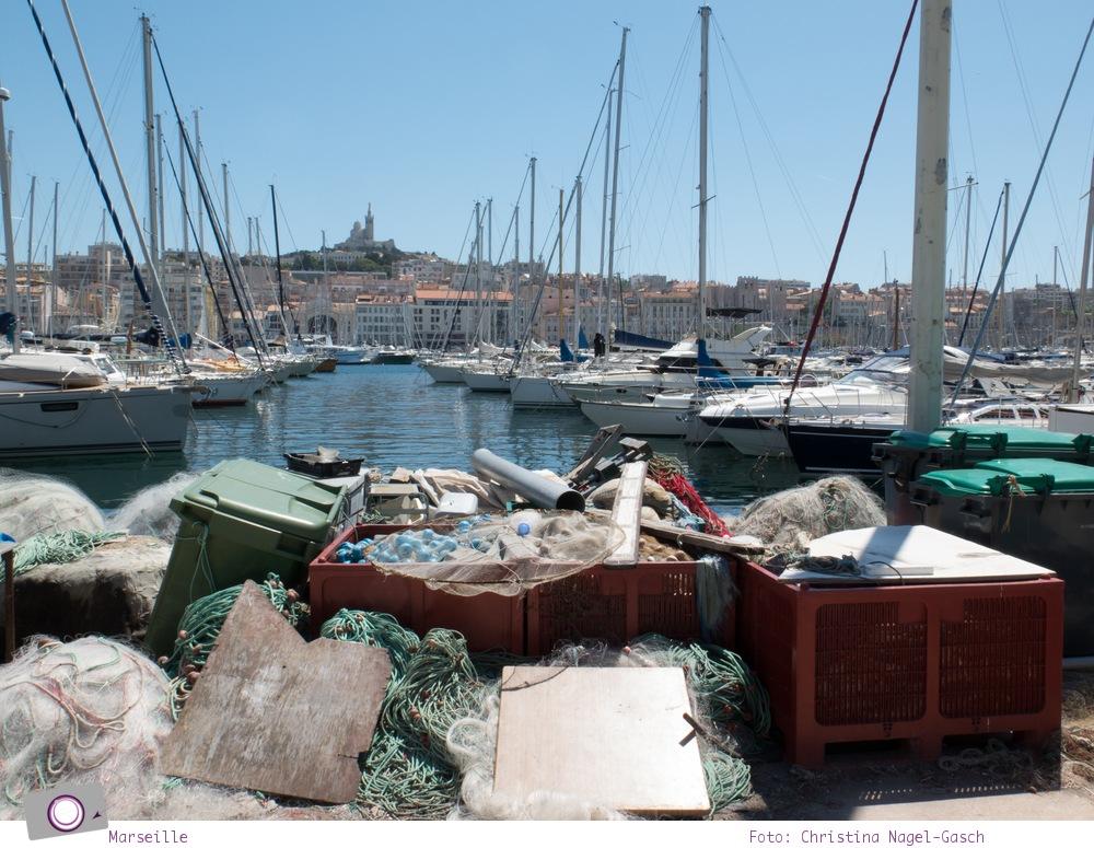 Norwegian Epic: Landgang in Marseille - Ausblick auf Notre-Dame-de-la-Garde
