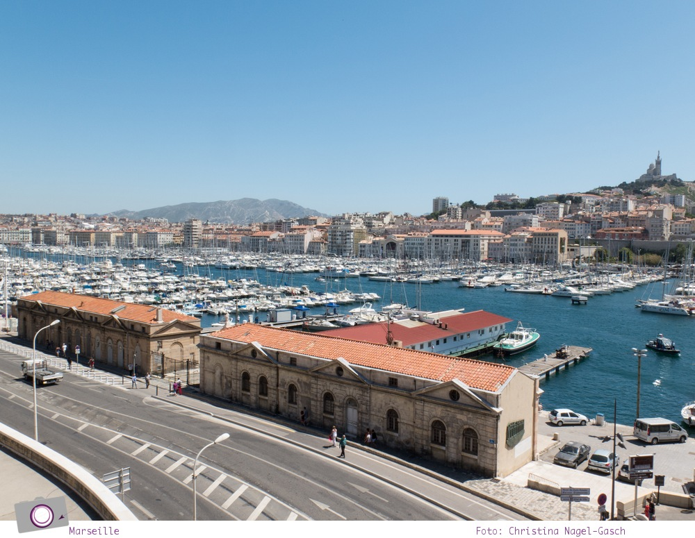 Norwegian Epic: Landgang in Marseille - Panorama Aussicht von Fort Saint Jean