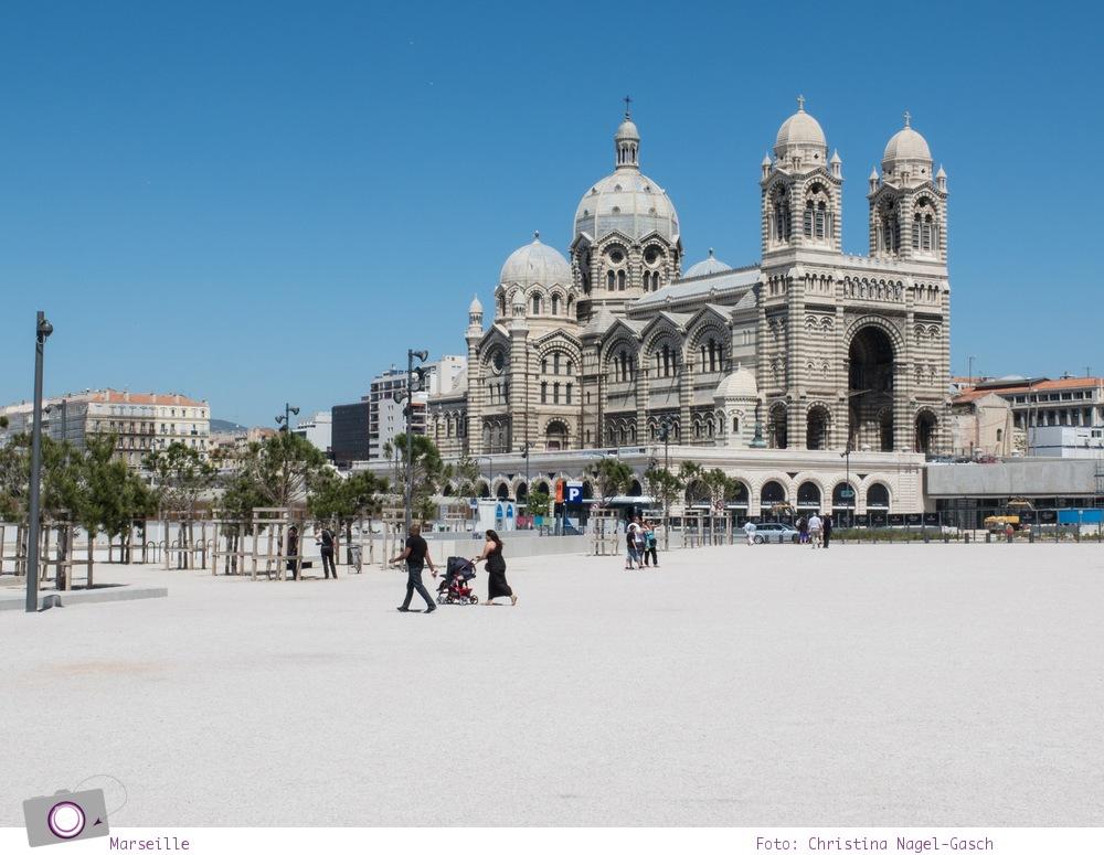 Norwegian Epic: Landgang in Marseille - die Kathedrale von Marseille